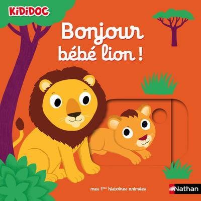 Bonjour bébé lion !